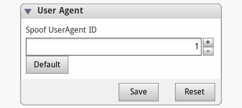 Spoof UserAgent ID
