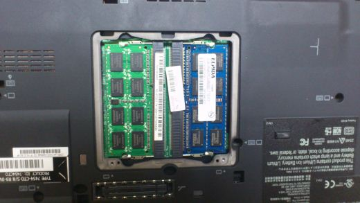 back of my thinkpad