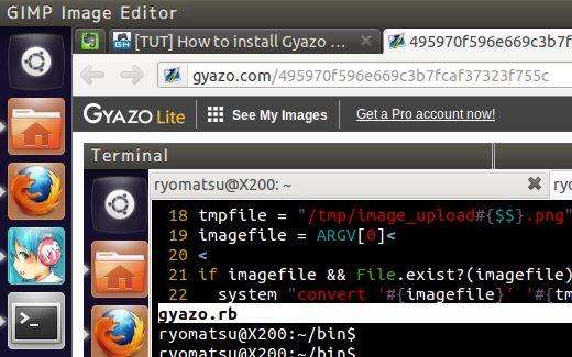 gyazo on ubuntu