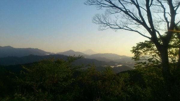 summit of mt.takao