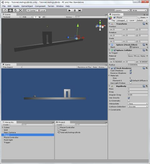 unity tutorial with book