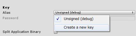 create a new key