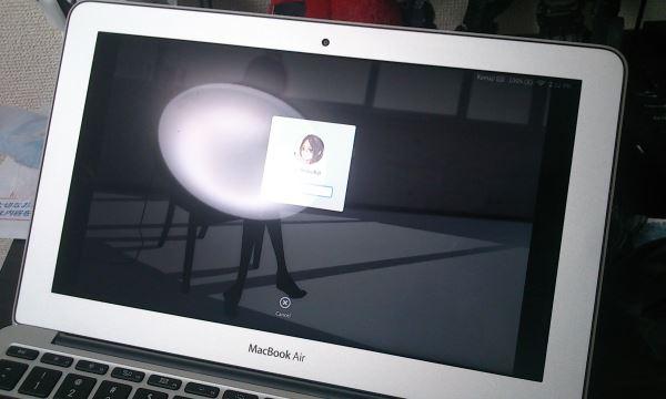 glare display
