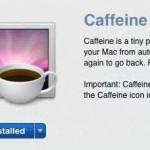 Caffeine で Mac をスリープさせないようにする