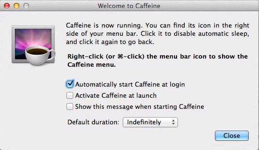 caffeine-setting