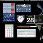 Mac のウィジェットをデスクトップ上に表示