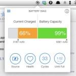 Battery Diag で簡単に Macbook のバッテリーの状態を確認する