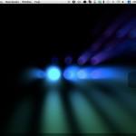 Mac でスクリーンセーバーを壁紙として利用する