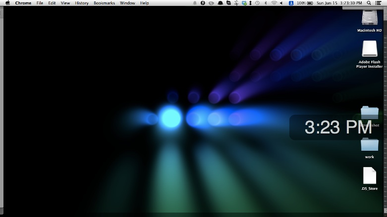 set-screensaver-as-mac-background
