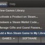 Steam 以外のゲームを Steam に登録する