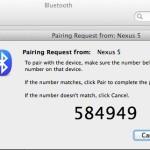 MacBookAir と Android で Bluetooth テザリングを行う