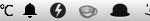 Mac メニューバーにちょっとした天気情報を表示できる Degrees