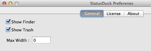 statusduck-preferenes