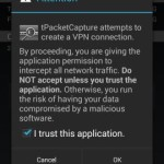 tPacketCapture と Wireshark で Android の通信を解析する