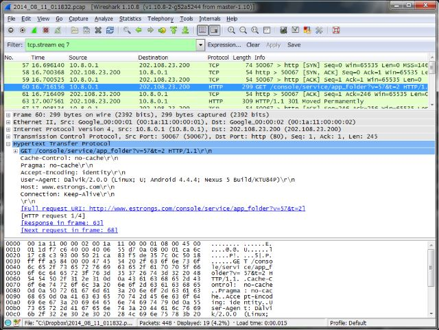 wireshark-filter