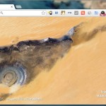Chrome の新規タブを衛星写真からの素晴らしい景色に変える Earth View from Google Maps
