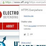 Web サイトへデフォルトで HTTPS での接続を行うブラウザの拡張機能 HTTPS Everywhere