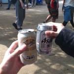 ビールを飲むために高尾山に行ってきた。