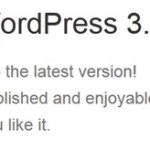 気がついたら wordpress 3.5 が出てたのでアップデートした。