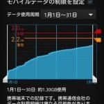 Android のバックグラウンドデータ通信を制限して転送量を節約する