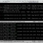 複数ファイルを tail できる multitail が便利!