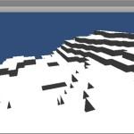 中点変位法を使用してマインクラフトのようなランダム地形を Unity で作ってみた