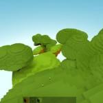 WebGL で作成された Minecraft クローンの Skycraft