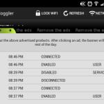Android の無線LANを自動で ON/OFF する