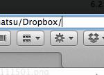 Mac の Finder でも Windows のようなアドレスバーを使う
