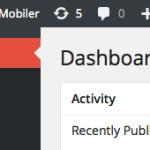 WordPress 3.8 にアップデートした