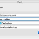 Web サイトを Mac のアプリみたいに扱える Fluid