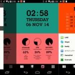 とても簡単に Android のカッコイイホーム画面が作れる WidgetHomeランチャー