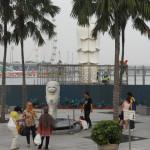 マーライオンを見るためにシンガポールへ