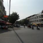 カンボジアの首都、プノンペン