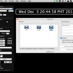 Geektool を使って Mac のデスクトップに様々な情報を表示する