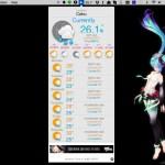 Mac で雨の通知もしてくれるメニューバー常駐の天気アプリ, Drizzle