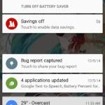 Android 5.0 のバッテリーセービング機能を使用して電池を長持ちさせる