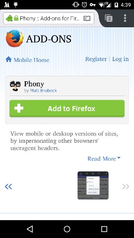 install-phony-to-firefox-for-android