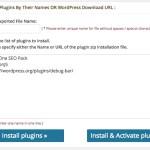 WordPress のプラグインをまとめてインストールできる Multi Plugin Installer