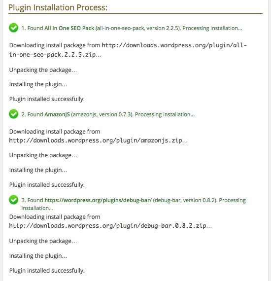 multiplugininstaller-result