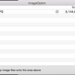 画像を劣化させずに容量を削減できる Mac のアプリ ImageOptim