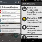 老眼でも安心の通知欄を大きく表示できる Android アプリ Big Notification