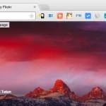 Chrome の新規タブに Flickr の綺麗な写真を表示する Flickr Tab