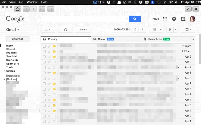 goforgmail-mainscreen