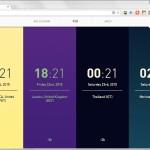 Chrome の新規タブを世界時計に変える拡張機能 Figure it Out
