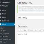 WordPress に手軽に FAQ ページを作成できる Ultimate FAQ