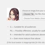 WordPress でユーザのアイコンを独自のものに変更できる Simple Local Avatars