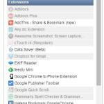 Google Chrome の拡張機能を素早くオン/オフできる Extensity