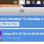 画像などのファイルの共有に便利なアプリ CloudApp
