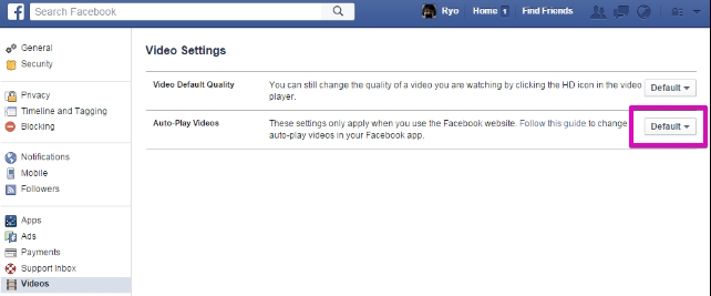 facebook-disable-autoplay-video